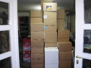 Lakásköltöztetés - munka közben